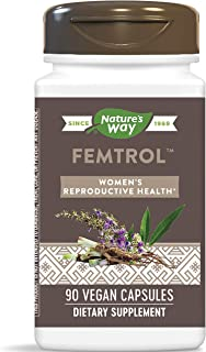 Enzymatic Therapy Femtrol Women's Formula for Healthy Ovarian Function, 90 Capsules
