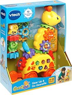 VTech VT80-199103 GearZooz Gear Up & Go Gearaffe Toy