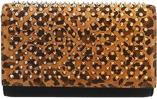Christian Louboutin Women's 3195011Q063 Multicolor Leather Clutch