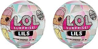 L.O.L. Surprise Lils Winter Disco Series with 5 Surprises (2-Pack)