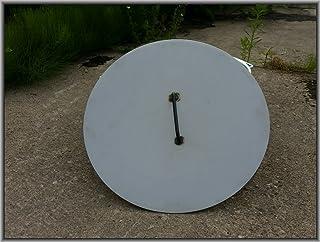 Czaja Stanzteile Deckel für alle Feuerschalen  einfaches Ablöschen der Feuerschale ohne Wasser und zum Schutz vor Regen Stahl, Durchmesser 55 cm