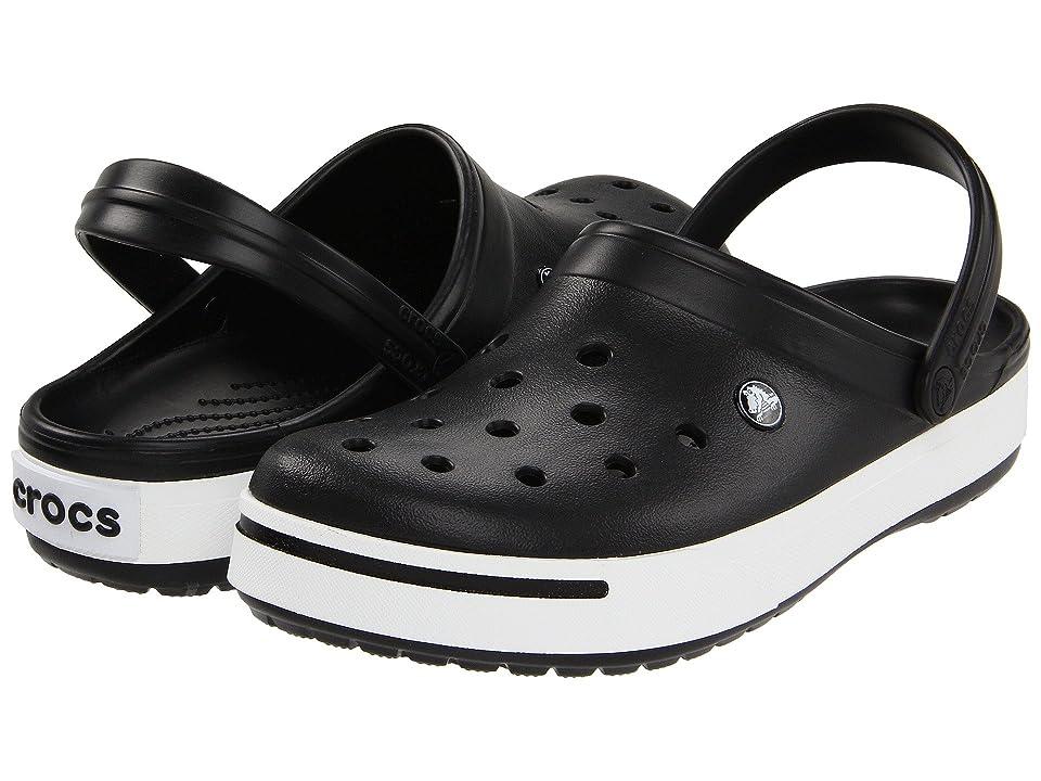 Crocs Crocband II Clog (Black/Black) Shoes