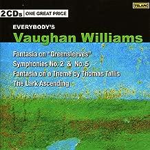 Vaughan Williams: Fantasia on Greensleeves / Symphonies 2 & 5 / Fantasia on a Theme / The Lark Ascending