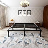 zizin 14 Inch Steel Platform Bed Frame (Full)