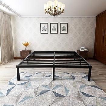 zizin 14 Inch Steel Platform Bed Frame