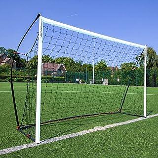 QUICKPLAY Kickster Academy Soccer Goal Range – Ultra Portable Soccer Goal Includes Soccer Net and Carry Bag [Single Goal] ...