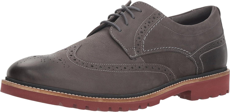 Rockport Men's Marshall Wing Tip Shoe, castlerock grey, 13 M US