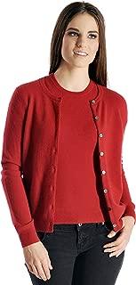 Women's 100% Pure Cashmere Cardigan Twin Sweater Set (9 Colors, Sizes: S/M/L/XL)