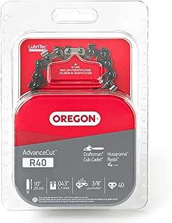 Oregon R40 AdvanceCut 10-Inch Chainsaw Chain, Fits Craftsman, Cub Cadet, Husqvarna, Ryobi
