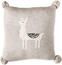 Linen Perch Baby Nursery Llama Throw Pillow - Baby Throw Cushion Cover and Insert for Nursery Decor - Decorative Toddler A...