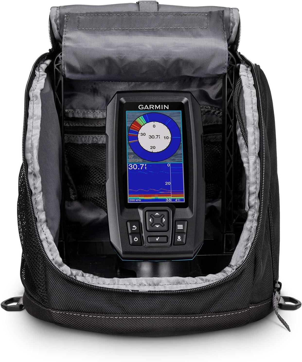 Garmin Over item handling ☆ Striker Plus 4 Ice Stri Bundle Portable Includes Fishing Special Campaign