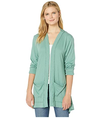 Fresh Produce Skipper Cardigan (Lagoon Green) Women