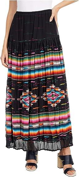 Bakersfield Blanket Serape Skirt