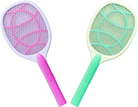 SUPER TOY Set of 2 Rechargeable Mosquito Racket/Insect Killer Bat (Multicolour)