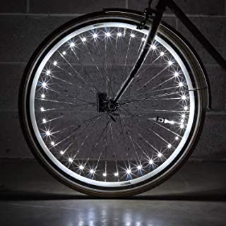 Monkey Light NLX1 LED Bike Wheel Lights Attaches to Spokes Near The tire. 40 LEDs Included. Fully Waterproof and Durable Bicycle Accessory.