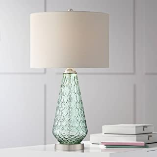 green table lamps contemporary