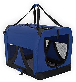 Paw Mate Soft Dog Crate L - Blue (PET-3002L-BU)