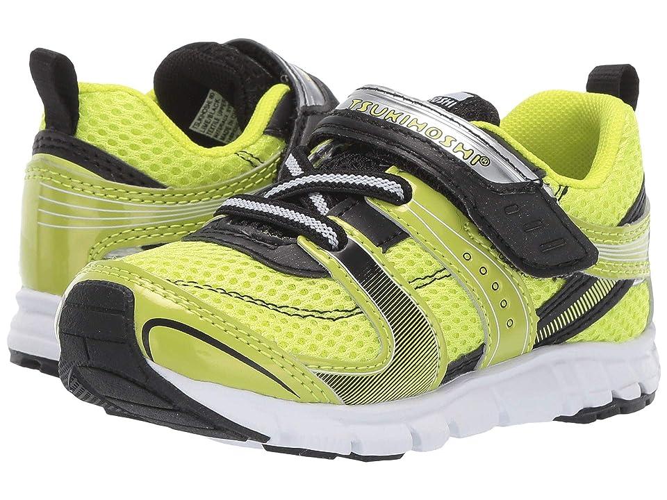 Tsukihoshi Kids Velocity (Toddler/Little Kid) (Lime/Black) Boys Shoes