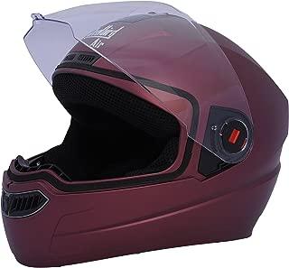 Steelbird Air SBA-1 Matte Full Face Helmet (Maroon, L)