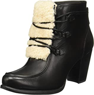 Womens Analise Exposed Fur Boot
