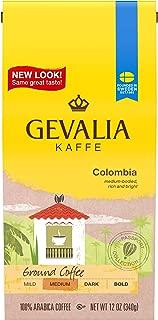 Gevalia Colombian Roast Ground Coffee (12 oz Boxes, Pack of 6)