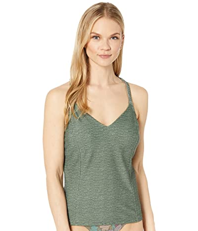 Prana Talula Tankini Top (Cargo Green Heather) Women
