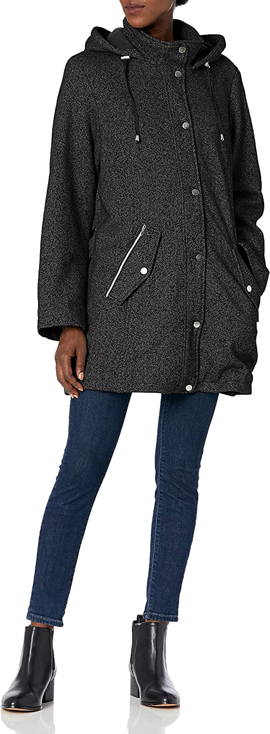 INTL d.e.t.a.i.l.s Washington Mall Women's Sale special price Hooded Regular and Jacket Sweatshirt