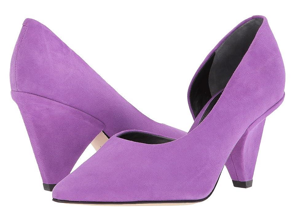 Sigerson Morrison Garson (Purple Soft Suede) Women