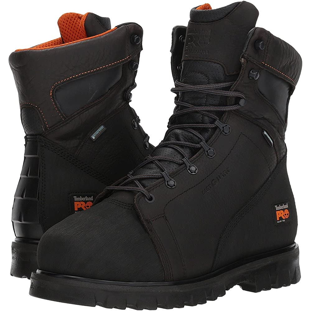 Timberland Pro Mens Sawhorse Dealer Slip On Safety Leather Boots