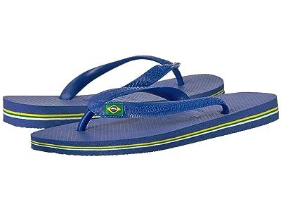 Havaianas Brazil Flip Flops (Marine Blue) Men