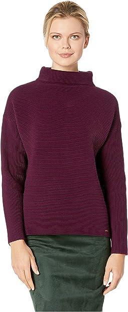 Mock Neck Long Sleeve Sweater