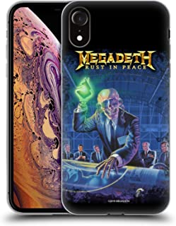 Official Megadeth Rust in Peace Album Cover Key Art Soft Gel Case Compatible for iPhone XR