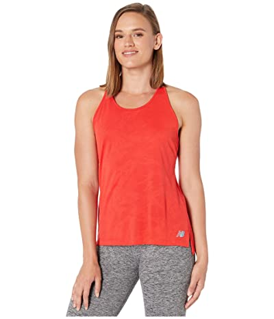 New Balance Q Speed Breathe Tank (Velocity Red) Women