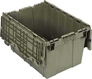 Quantum Storage Systems, QDC2115-12, Attached Lid Container, 1.67 Cu Ft, Gray