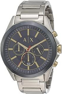 Armani Exchange Men's AX2614 Chronograph Quartz Silver Watch