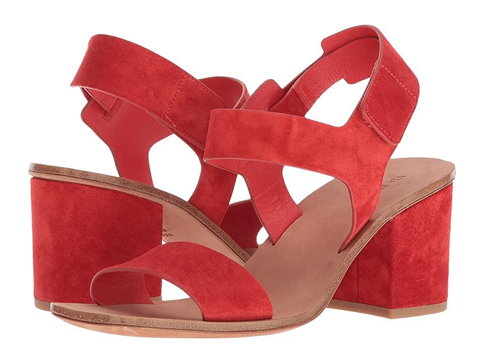 Via Spiga Kamille (Poppy Red Suede) Women