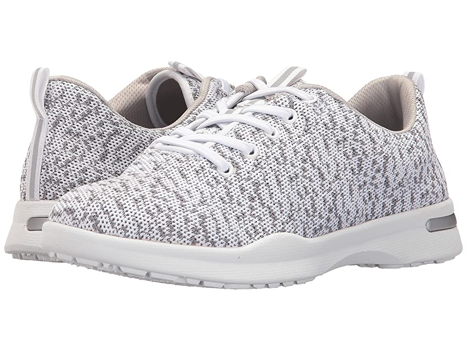 SoftWalk Sampson (White Knit) Women