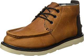 5276500c1fd TOMS Men s Chukka Boot Waterproof Brown Pull-Up Leather 8.5 ...