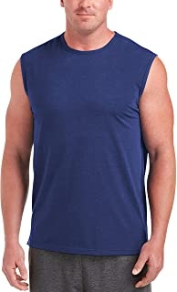 Men's Big & Tall Performance Cotton Muscle Tank fit by DXL