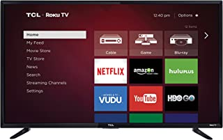 TCL 48FS3750 48-Inch 1080p Roku Smart LED TV (2016 Model)