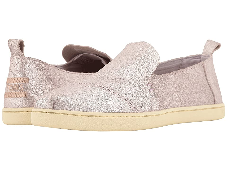 TOMS Deconstructed Alpargata (Lavendar Metallic Leather) Women