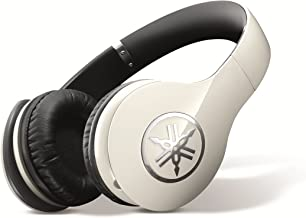 Yamaha PRO 400 High-Fidelity Over-Ear Headphones (Ivory White)