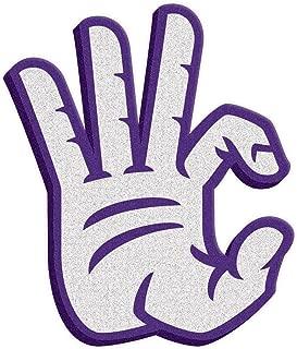Root Sportswear Kansas State University K-State Wildcats WC Hand Sign Foam Hand/Foam Finger