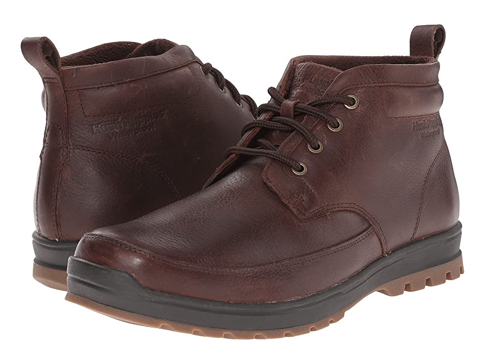Hush Puppies Dutch Abbott (Brown Waterproof Leather) Men
