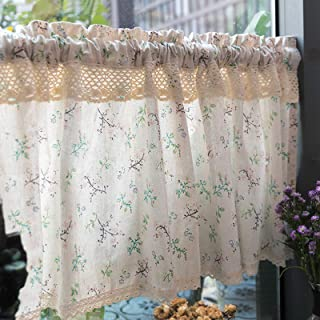 Kitchen Window Curtains, Top Drapes Tier Curtains, Short Curtains, Half Window Curtains, Tier Curtains, Cafe Curtains for ...