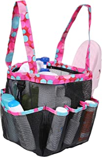 Giway Durable Portable Mesh Shower Caddy,Large Capacity Multiple Pockets Bathroom Caddy,Quick-Drying Multiple Uses Shower ...