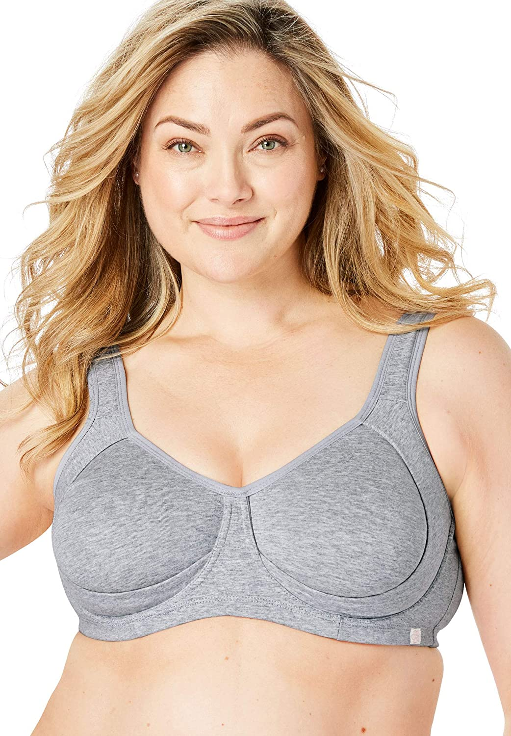 New Free Shipping Comfort Choice Safety and trust Women's Plus Wire Size Outer Bra