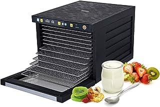 comprar comparacion BioChef Savana - Deshidratador de alimentos, 2 Motores 500W (total 1000W), 6/9/12 Bandejas Acero Inoxidable + Hojas Antiad...
