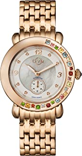 Gevril - Reloj Analógico para Mujeres de con Correa en Acero Inoxidable 9892