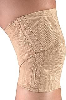 CHAMPION Knee Support Criss-Cross Style Knit Elastic, Beige, Medium